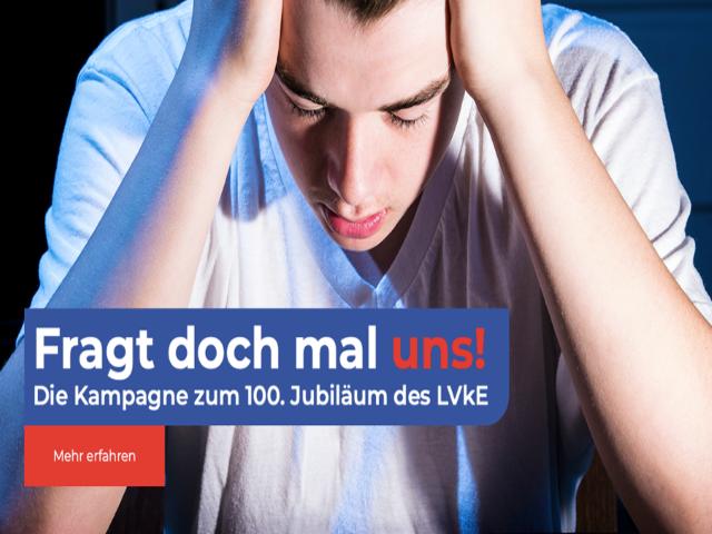 """Fragt doch mal uns!"" - LvKE- Kampagne zum 100. Jubiläum"